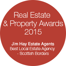 Best Local Estate Agency - Scottish Borders, Real Estate and Property Awards 2015